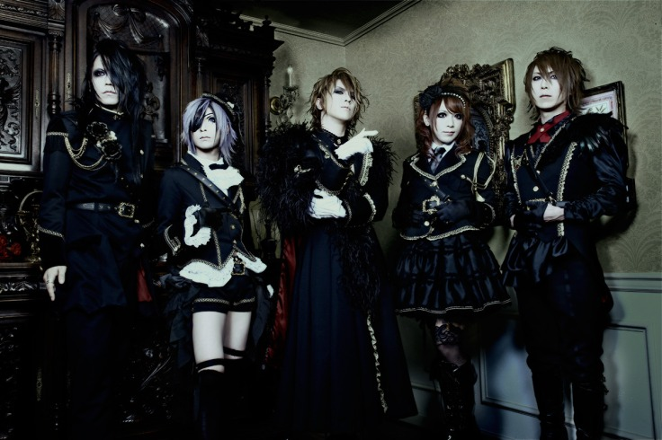 Versailles in black