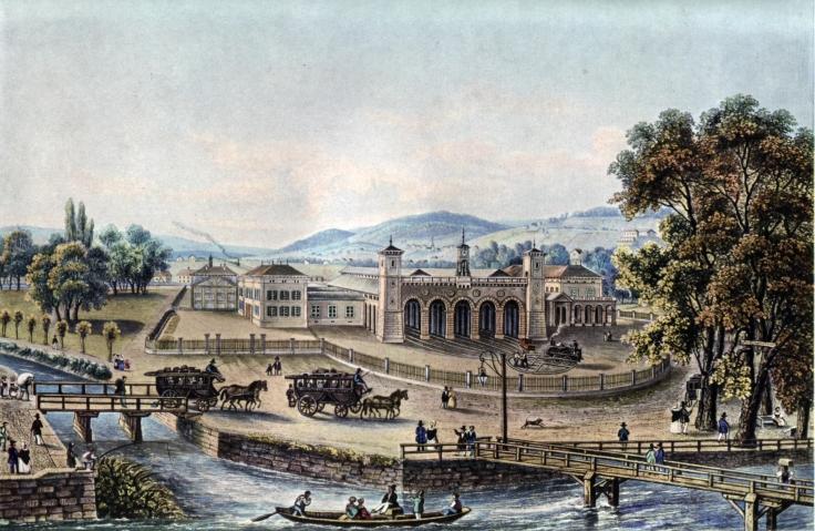 Isenring_Bahnhof_Zürich_1847
