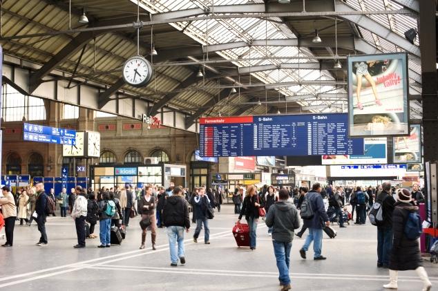 Innenansicht Haupthalle Zürich Hauptbahnhof