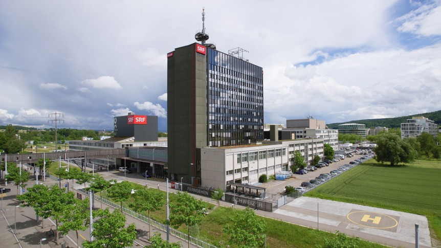 Fernsehstudio des SRF in Zürich-Oerlikon