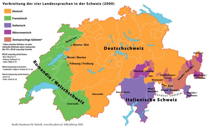 Sprachregionen