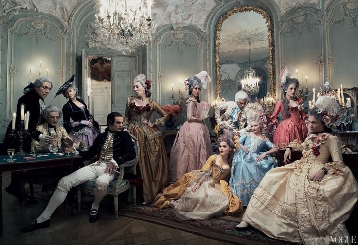 "Szene aus dem Film ""Marie Antoinette"" von Sofia Coppola"