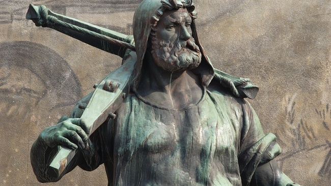 Statue von Wilhelm Tell