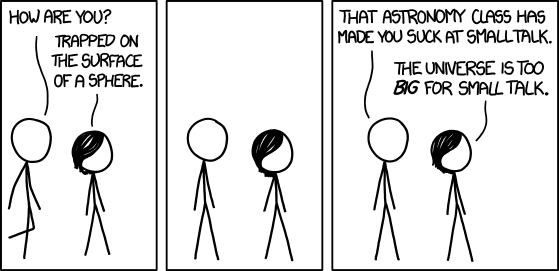 small talk by xkcd