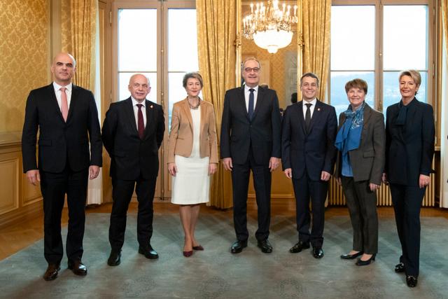 Der Schweizer Bundesrat 2019